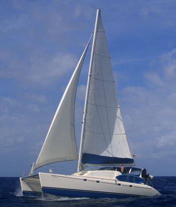 caribbean sailing holiday image