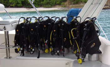 scuba diving equipment image