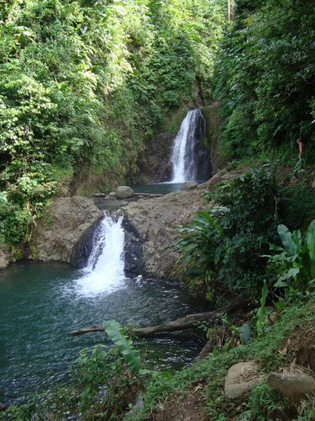 Waterfall in Grenada